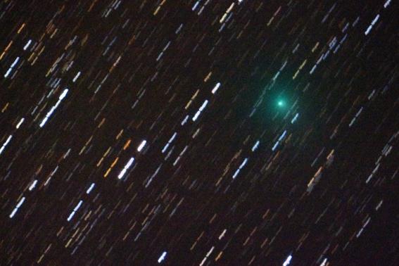 pointované na kométu