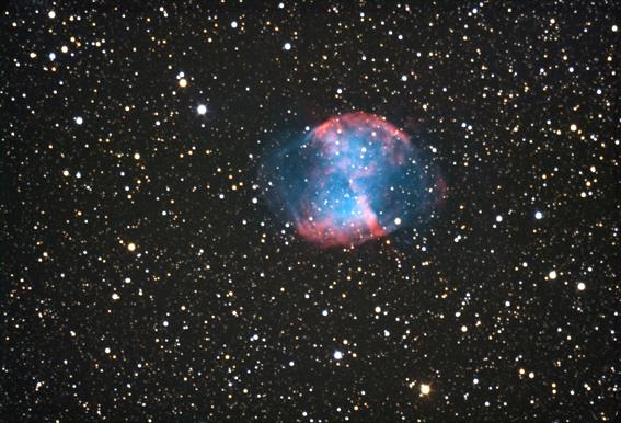 Snímka vznikla na súkromnom observatóriu p. M. Murína